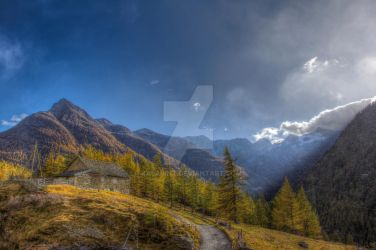 Stormy day at the Mountains HDR-Edition by Kalabint
