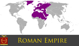 Greater Roman Empire by PrussianInk