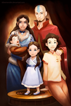 Aang family by AlineMendes