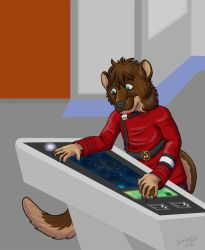 Red Shirt Walt by ElfWolfProductions