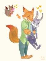 Nick and Judy by Ab-anna