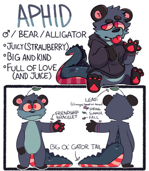 Aphid redesign reference by InvalidQuestion