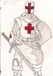 the red knight by blacksun54