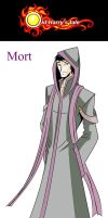 OHT-Concept art: Mort by Foxy-Knight