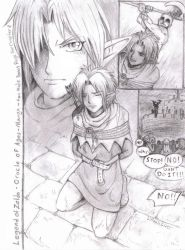 Zelda -Ages Manga-fanmade page by LilleahWest