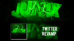 Twitter revamp for JunixArtz by xSergi