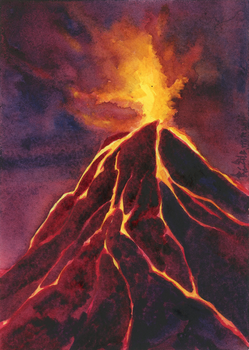-Volcano 1- by RiEile