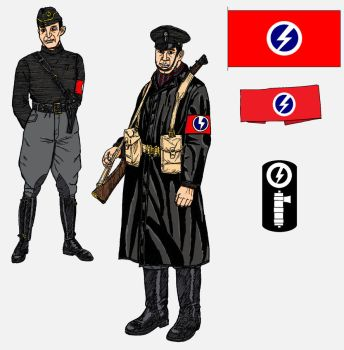 1938: A Very British Civil War. Fascists by linseed