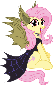 Fluttershy [Nightmare Night!] by KyssS90
