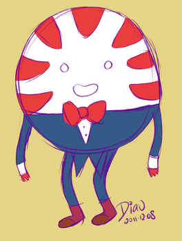 AT: Peppermint Butler by diav