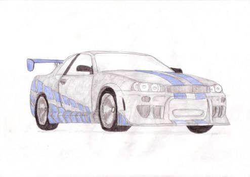 Nissan Skyline by motor-man