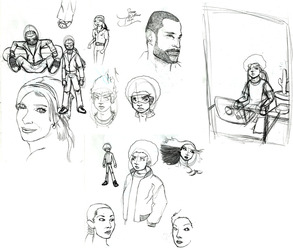 Sketchdump January 13 2010 by CaseyPalmer