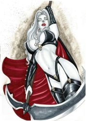 Lady Death by Lewiscomicarts