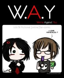 W.A.Y t-shirt design by Denorii