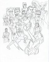 Batman The Animated Series by miedo128
