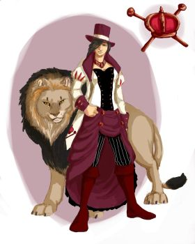 Woodwife- The Lion Tamer- (AngelSera) by xaotl