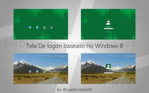 Logon Windows 8 Metro Style by JoaoFernandoJFMX