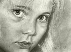 Girl With Cupid's Bow by Pappa60
