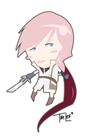 30Chibi Series: Lightning by TLEEART