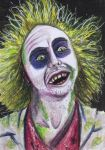 ACEO: Beetlejuice by DanielleMWilliams