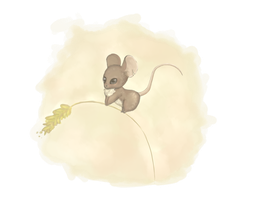 Little mouse by k-uso
