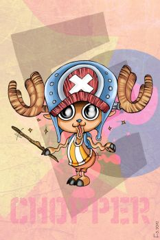 Tony Tony Chopper by F-ocube