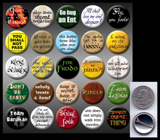 Lord of the Rings 1' pins by eitanya