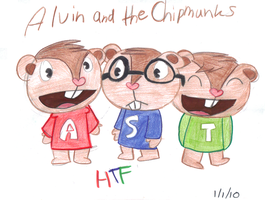 Alvin and the chipmunks HTF by Neenagirl2220