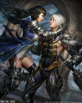 Mobius Final Fantasy - Kiss of the Witch by anotherwanderer