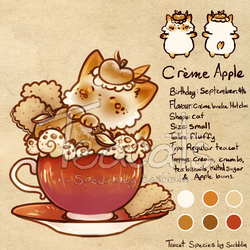 Creme brulee - cat - 5th gen by Teacatalog