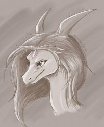 Determined Look - doodle by IcelectricSpyro
