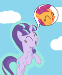 MLP authority swap #2 Starlight and Scootaloo by TheWalrusclown