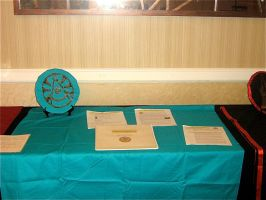 Guild of Cartographers Table by kapera