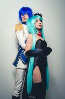 Vocaloid Cendrillon - Kaito and Miku by Feeracie