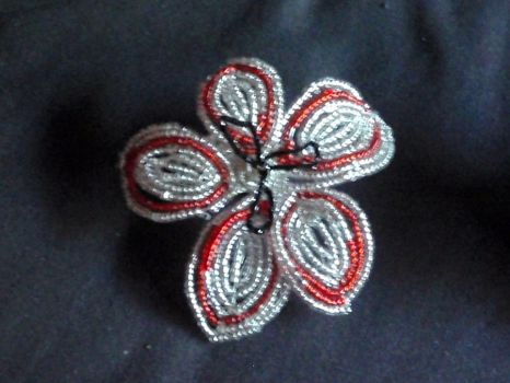 Canada Day Flower clip 2 by MissCreepers