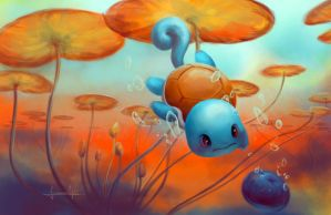 Squirtle by apocalyss