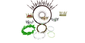 Crown Set by chocosunday