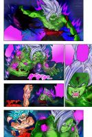 Dragon Ball Super Goku vs Zamasu Fusion Chapter 25 by Amanomoon