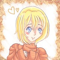 Armin and his Cute Fall Sweater by TeacupDream