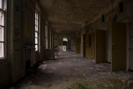 Derelict Children's Ward by AdamLC
