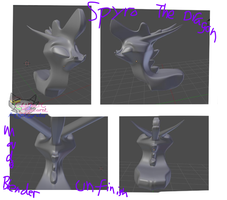 SpyroTheDragon model by AngelCnderDream14