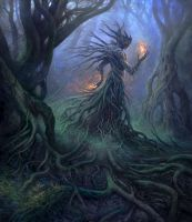God of the Forest by yonaz