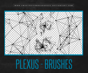 Plexus Brushes | Photoshop by sweetpoisonresources