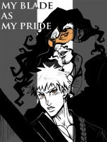 My Blade as My Pride by m-t-copyright