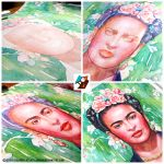 Portrait of Frida Kahlo #2 (WIP) by lazy-brush