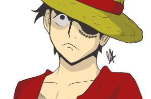 Monkey D. Luffy by cak04