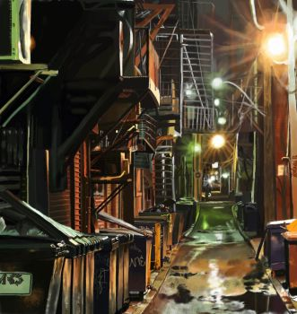 Alley by 19ZsErika