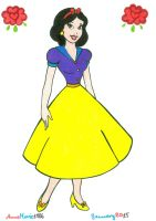 50s Snow White by AnneMarie1986