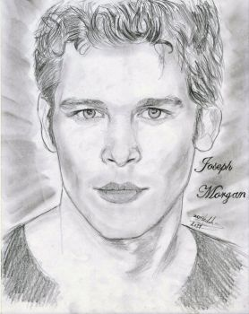 Joseph Morgan by VilenH