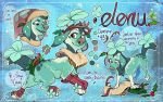 Elenu- Holiday Cloverpup (CLOSED) by Colonels-Corner